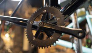 bicycle piece close up