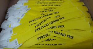 Opaski na rękę Pyrzycki Grand Prix